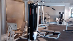 Harrah's Fitness Center machines