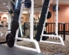 Paris fitness center squat rack